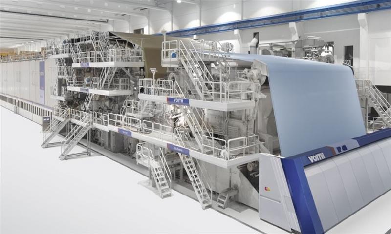 شرکت ویت بزرگترین و سریعترین ماشین تولید کاغذ کرافت لاینر را در جهان می سازد