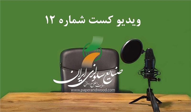 دوازدهمین ویدیو کست سایت اطلاع رسانی صنایع سلولزی ایران