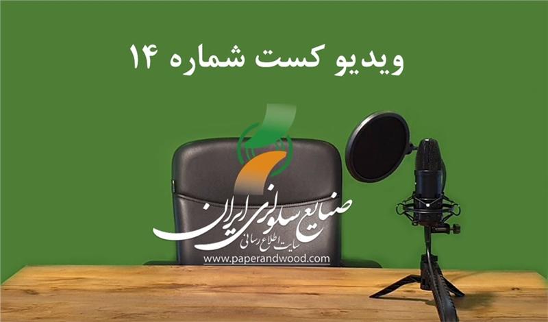 چهاردهمین ویدیو کست سایت اطلاع رسانی صنایع سلولزی ایران
