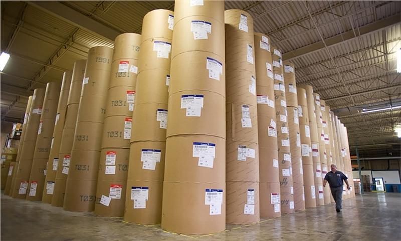 تولیدات کاغذ بر اساس انواع آن 2008-2018