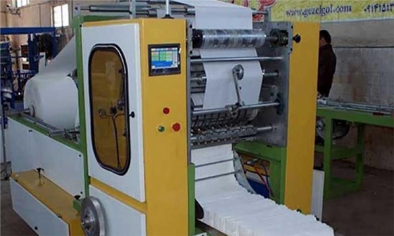 میزان تولید سالانه دستمال کاغذی در کشورهم اکنون ۱۵۰ هزار تن است.