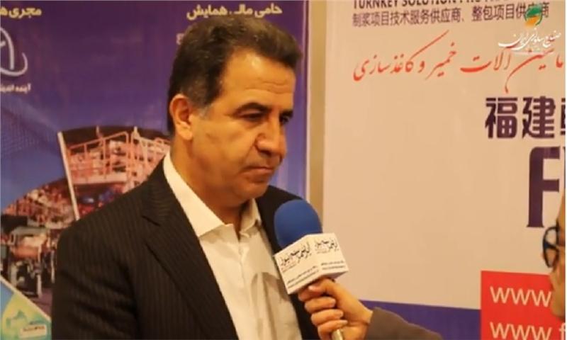 مصاحبه با جناب آقای مهندس یوسفیان نمایند فوجی لایت در ایران