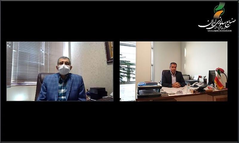 مصاحبه با آقای دکتر امیدی مجری سومین نمایشگاه کاغذ و مقوا (بخش اول)