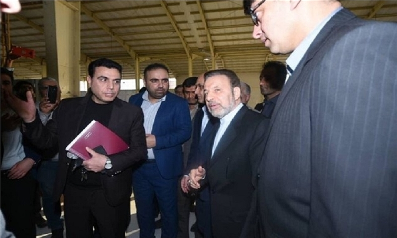 The inauguration ceremony of tissue making factory in Aq Qala