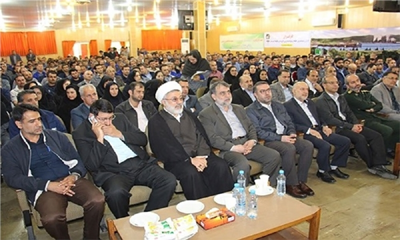 Iran's largest paper making group celebrated its exit from bankruptcy.