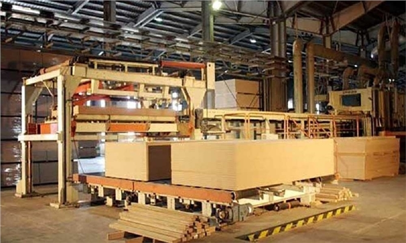 MDF paper impregnation production line was launched in Khuzestan