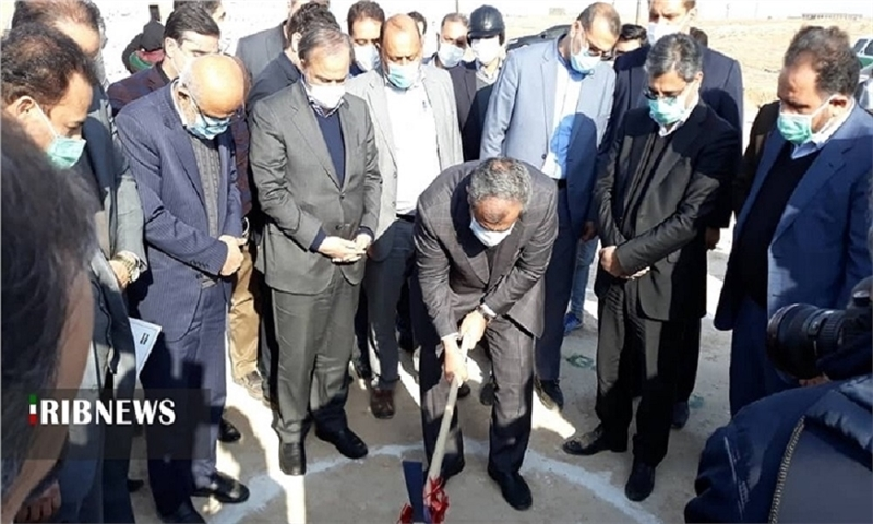 The commencement of an industrial plant in Khoramdasht Industrial Park