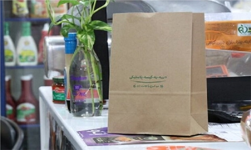 The use of plastic bags was banned in the fruit and vegetable markets of Karaj.