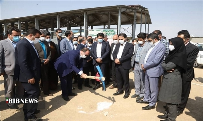 The Start of constructing paper and cardboard factory in Khorrambid