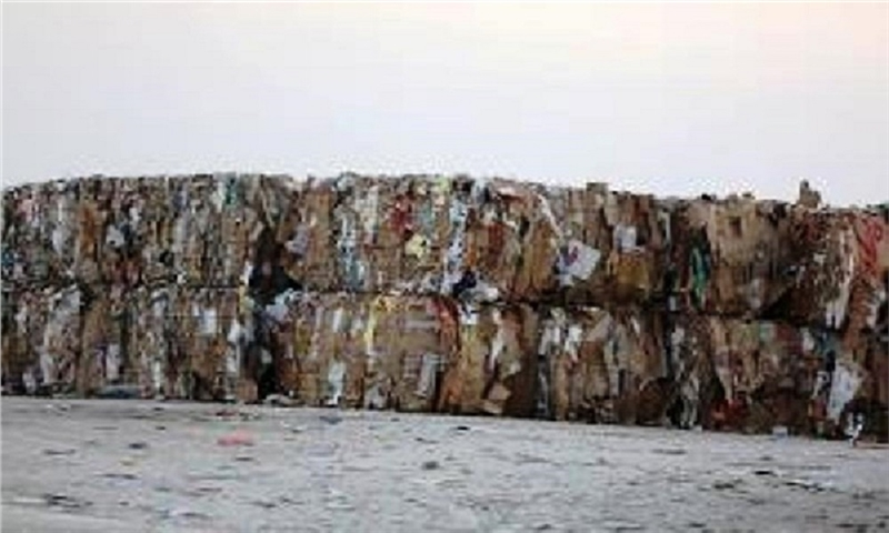 The transfer of more than seven and a half million kilograms of waste to the Kish recycling site