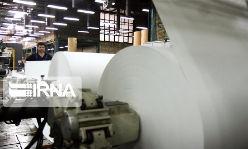 کارخانه کاغذ از سنگ آهک در فاروج ساخته میشود