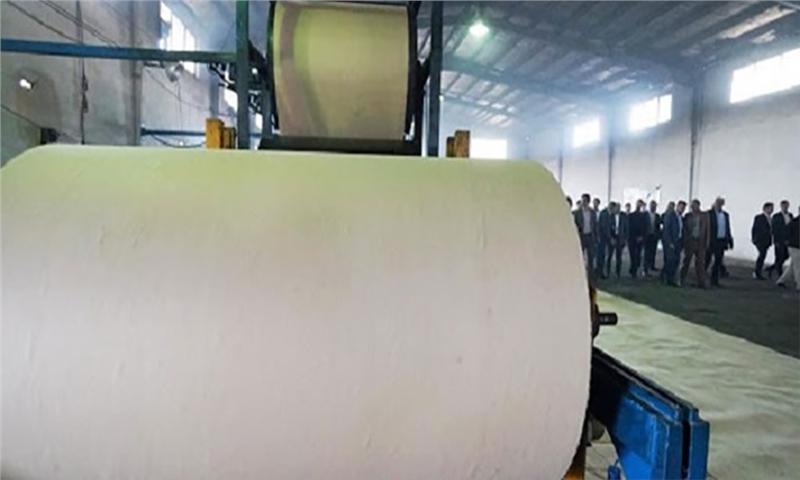 عدم تأمین مواد اولیه با کیفیت سنگ لای چرخ تولید کاغذ بستهبندی است