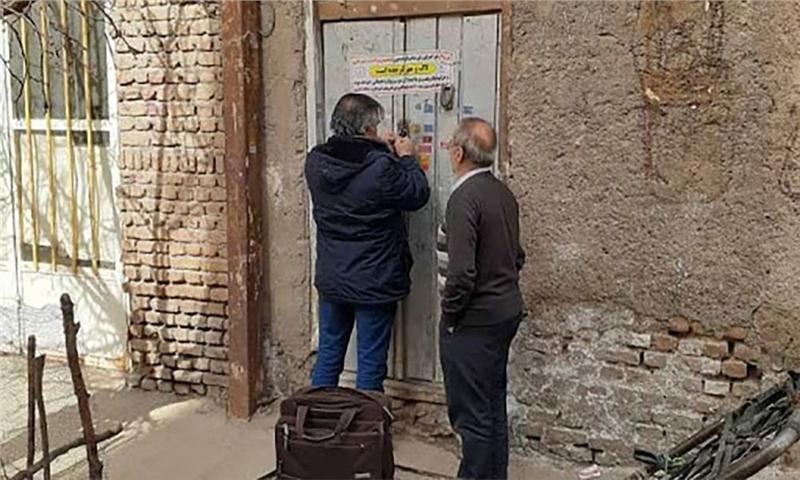 پلمپ ۱۰ها مرکز غیرمجاز تفکیک زباله و ضایعات فروشی در تبریز
