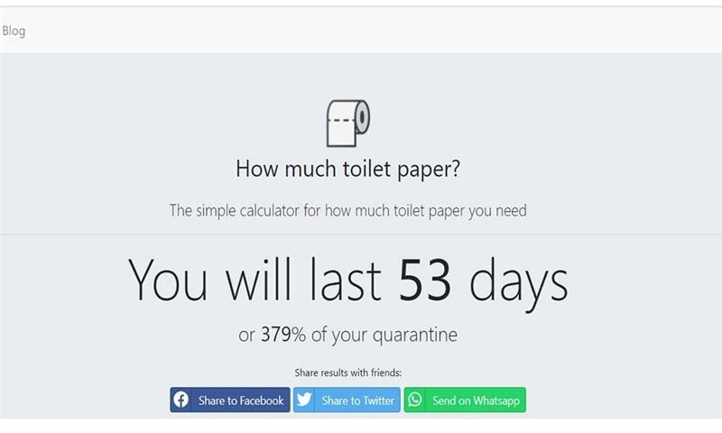 راه اندازی وب سایت آمریکایی برای کاهش خرید کاغذ توالت