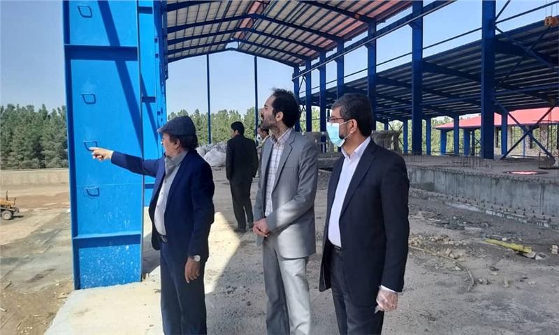 پیشرفت ۶۵ درصدی اولین کارخانه تولید کاغذ خراسان جنوبی