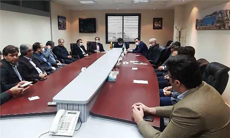 برگزاری جلسه تودیع و معارفه مدیر عامل شرکت صنایع چوب و کاغذ مازندران