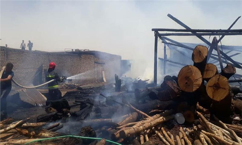 سه حادثه آتشسوزی در اصفهان سه مصدوم داشت