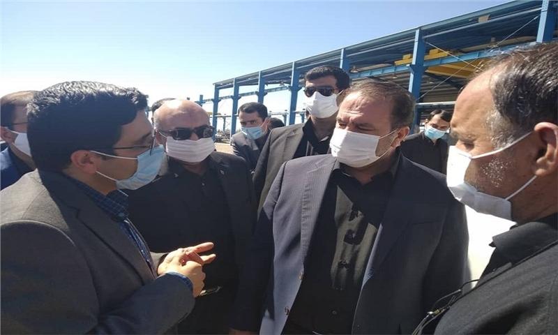افتتاح و آغاز عملیات اجرایی هفت طرح صنعتی در شهرک صنعتی آباده