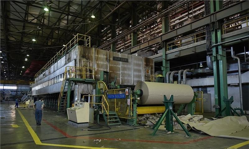 رکوردشکنی تولید کاغذ در مازندران