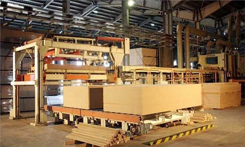 خط تولید آغشتهسازی کاغذ MDF در خوزستان راهاندازی شد