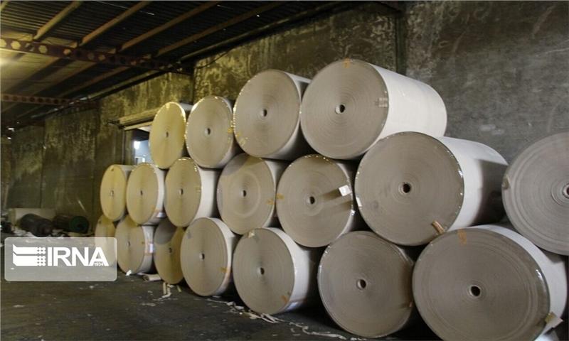 تولید سالانه سه هزار تُن کاغذ صنعتی در تکاب