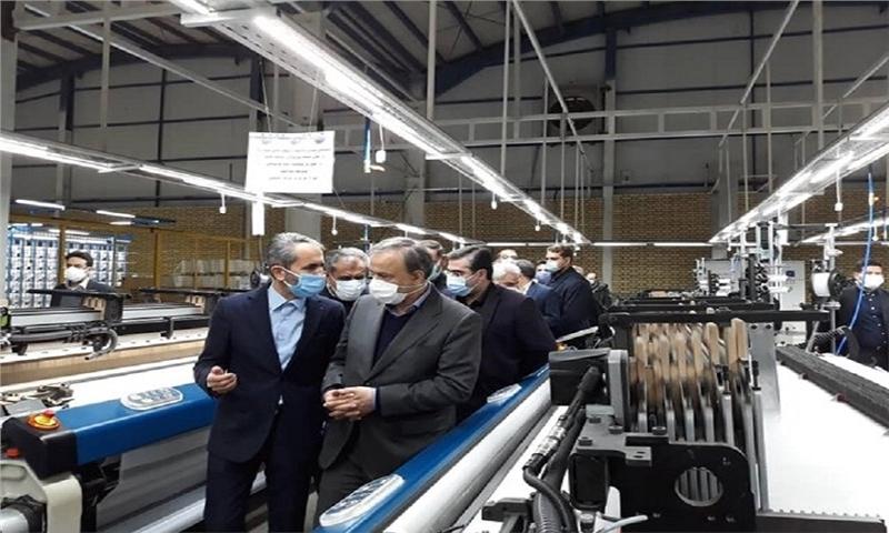 بازدید و افتتاح چند پروژه در قزوین توسط وزیر صمت