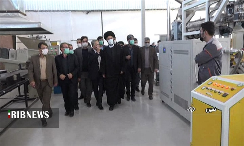 بهره برداری از کارخانه تولید کاغذ از سنگ در نمین