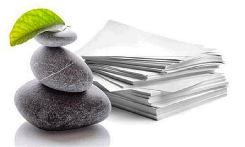 زمانی برای شکوفایی کاغذ سنگی