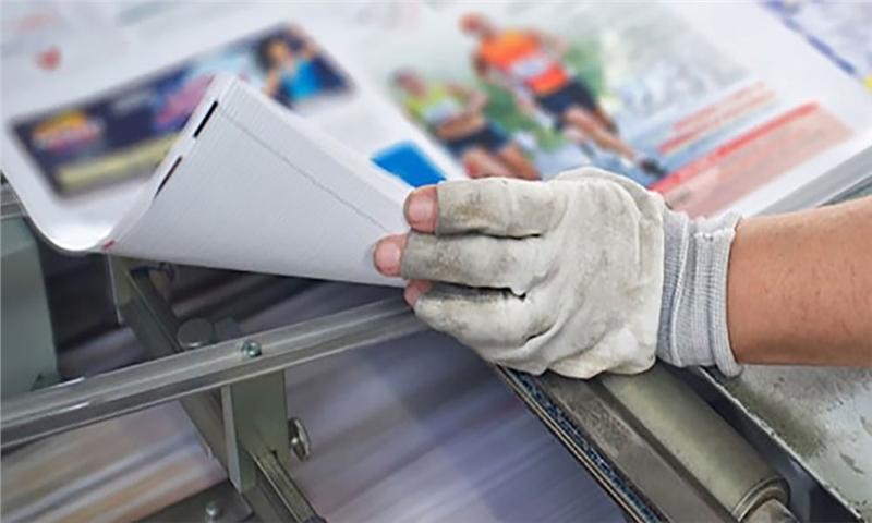 رئیس اتحادیه چاپخانهداران: بعضی چاپخانهها برای سرپا ماندن، برچسب تقلبی چاپ میکنند