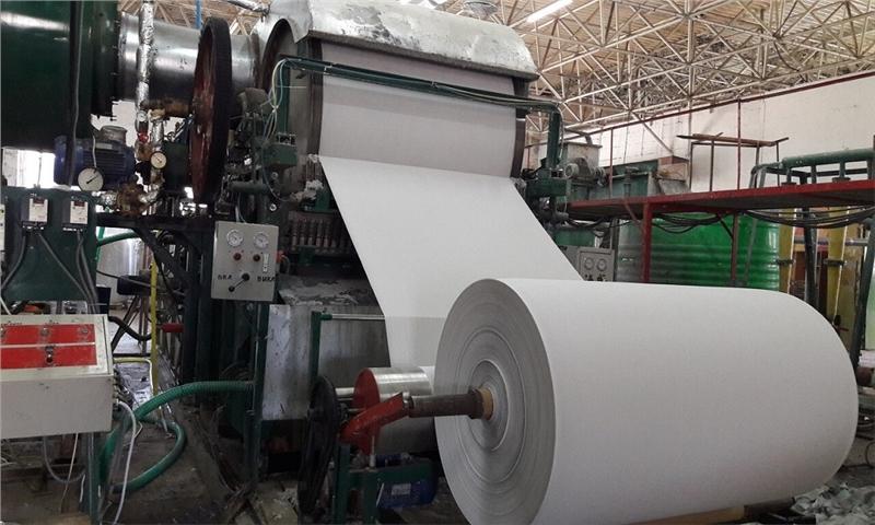 کارخانه تولید کاغذ الیگودرز امسال راهاندازی میشود