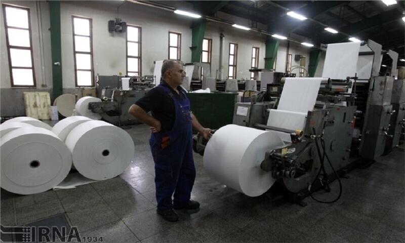 توان ایران برای تبدیل شدن به قطب تولید کاغذ در منطقه