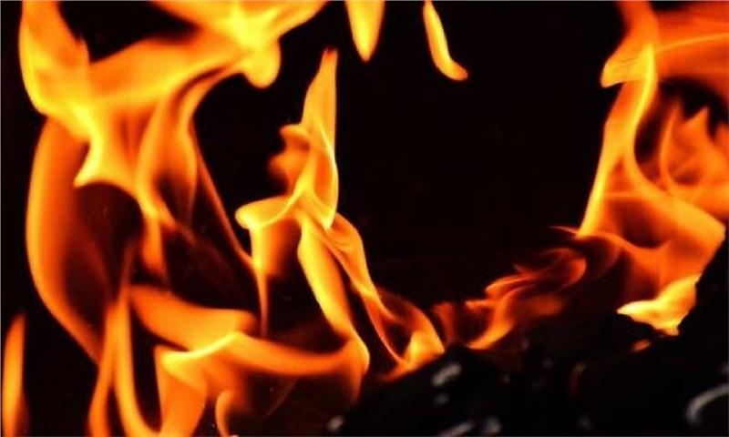 آتش گرفتن خودرو و جانباختن راننده در بزرگراه بسیج