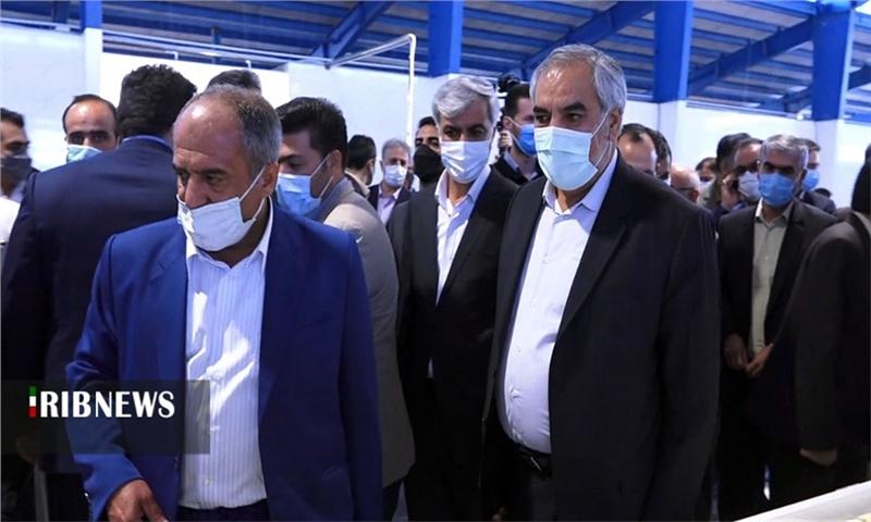 بهرهبرداری از فاز توسعه کارخانه تولیدی در کردستان