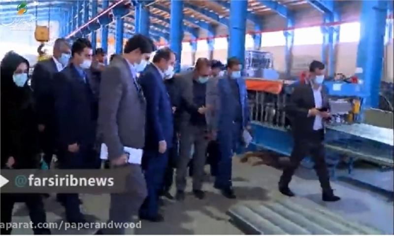 بهره برداری از چهار واحد صنعتی در شیراز
