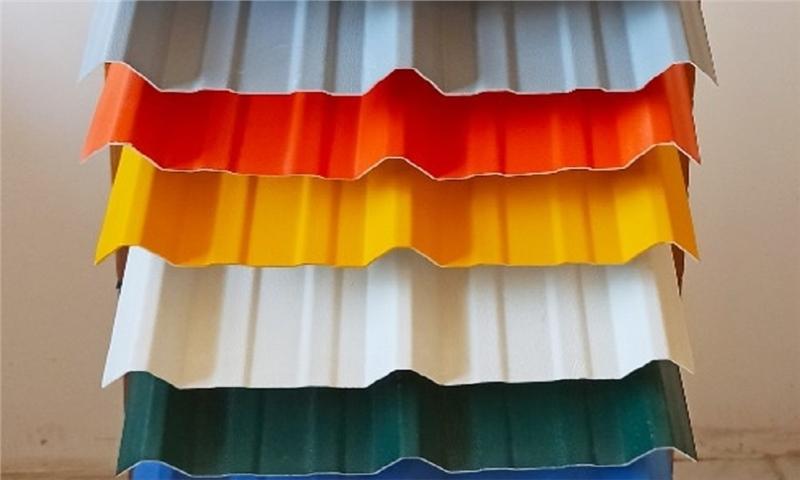 ورقهای پلی روف بهترین پوشش جهت سقف کارخانه های سلولزی