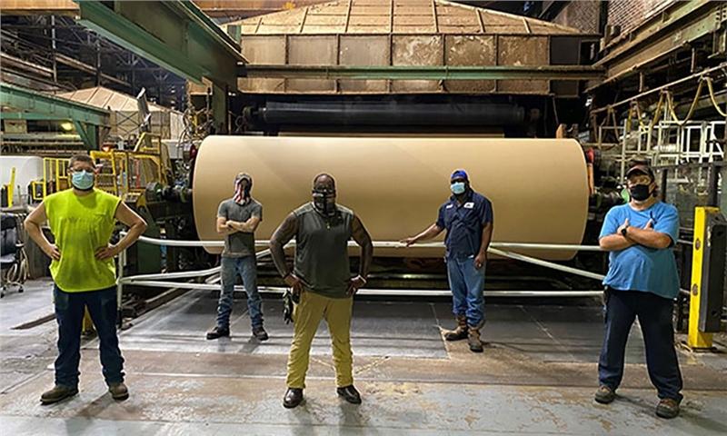 کارخانه تولید کارتن - جورجیا-پسیفیک - آمریکا