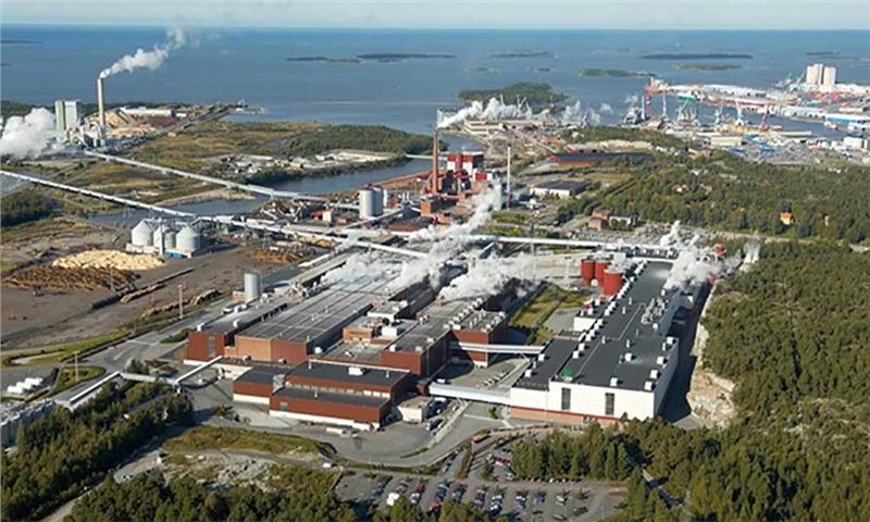 بعلت کاهش چشمگیر تقاضا شرکت UPM دستگاه کاغذ شماره 2 را در راما ، فنلاند تعطیل نمود