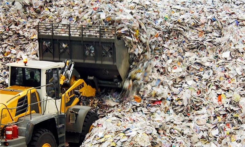 نگرانی انجمن بازیافت انگلستان از عدم جمع اوری موارد قابل یازیافت