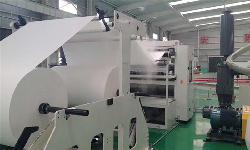 افزایش خط تولید کاغذ تیشو